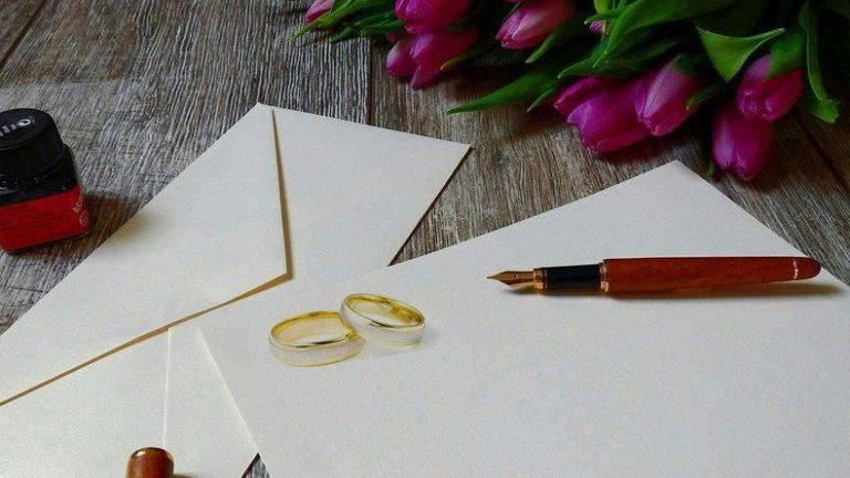красиви сватбени покани